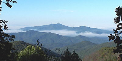 Early morning view from the Cherohala Skyway. - Photo by Jack Waters